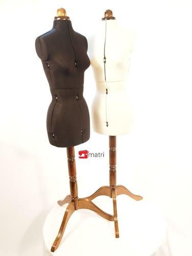 LADY VALET MEDIUM - manichino/busto sartoriale - COLORE: Nero