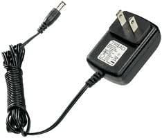 Plug-In AC Adapters 100-240VAC 7.5W 6.0VDC 1.25A NEG