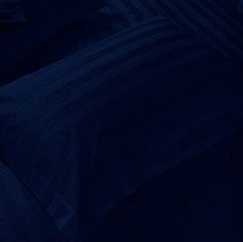 Felgen Iconic Kissen Standard Größe, 2Stück 100% Baumwolle Kissenbezüge 2Stück Standard Size Stripe Navy Blue -