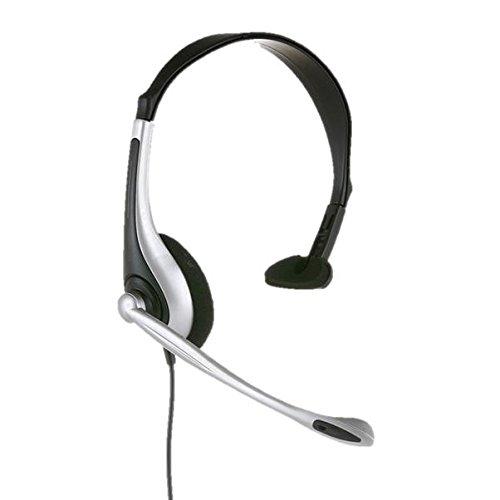 jpl-301-cuffia-monoauricolare-usb-con-riduzione-del-rumore-volume-in-line-muto-colore-argento-nero