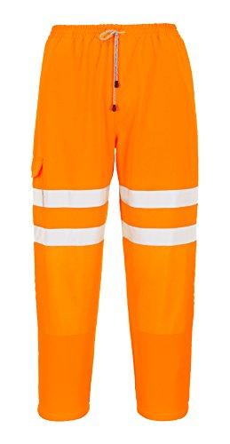 Abeba, Scarpe antinfortunistiche uomo, Bianco (Siehe Abbildung), 42 arancione