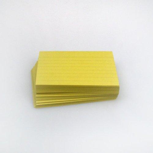 office-line-karteikarten-500-stuck-gelb-190-g-din-a7-liniert