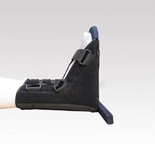 LYLESS Medical Board Schuhe Knöchelgelenk Unterstützung Nach der Fußverletzung Fixierung Schwarz Unterstützung