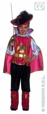 Widmann-WDM3683M Kostüm für Jungen rot gold schwarz WDM3683M