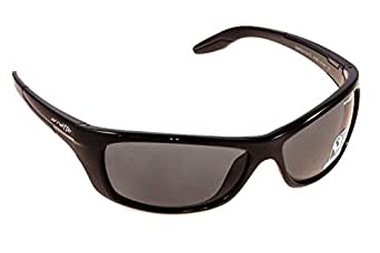 a2ec5ac758f Image Unavailable. Image not available for. Colour  Arnette Swing Plate 4160  41 81 Ø61 Frame plastic Black lenses gray Polarized Spo