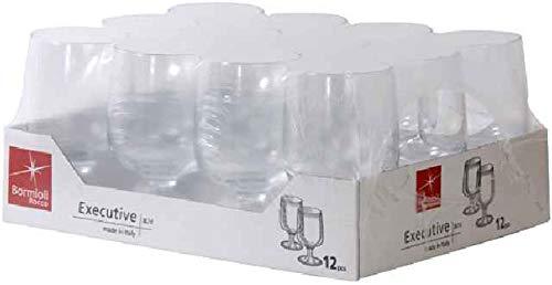 Cl Wasser (Bormioli Rocco Executive Set 12Gläser Wasser 26cl)