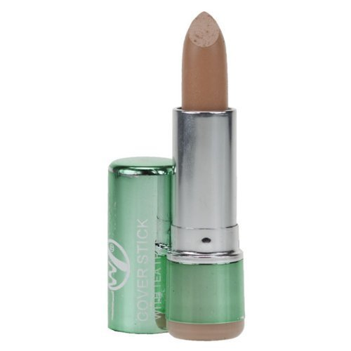 W7 Concealer Cover Stick with Tea Tree Oil Medium/ deep 3.5 g by Warpaint Cosmetics Ltd. (English Manual)