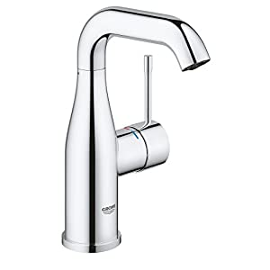 Grohe Essence – Grifo de lavabo con pop-up waste color cromo L (cromo) Ref. 32628001