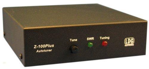 LDG Electronics Z-100PLUS Automatic Antenna Tuner 1 8-54 MHz, 0 1-125  Watts, 2 Year Warranty by LDG Electronics