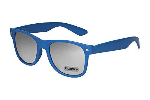 X-CRUZE 8-027 X10 Nerd Sonnenbrille Retro Vintage Style Stil Retro Unisex Herren Damen Männer...