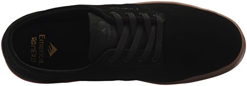 Emerica Laced By Leo Romero-M, Baskets mode homme Black Charcoal Gum