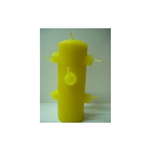 LCL velas VELON 7 MECHAS Color Amarillo