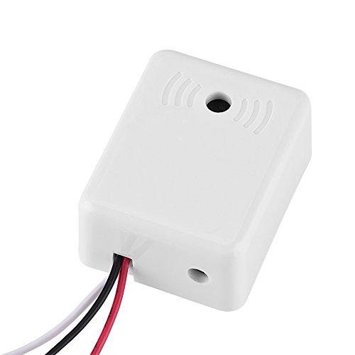 Zerone Mic Audio Pickup Vorverstärkermikrofon Kit für Home Security Kamerasystem Sound Voice Monitor