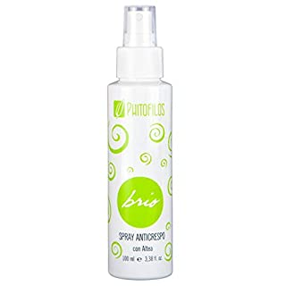 PHITOFILOS - BRIO Spray Anti Frizzy with Organic Altea - With Flax Seed- Shining Effect - Organic, Vegan and Made in Italy - 150 ml
