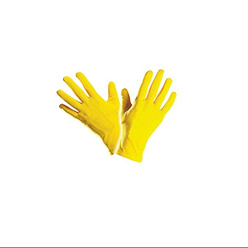 Handschuhe gelb Clownhandschuhe, kurz, -
