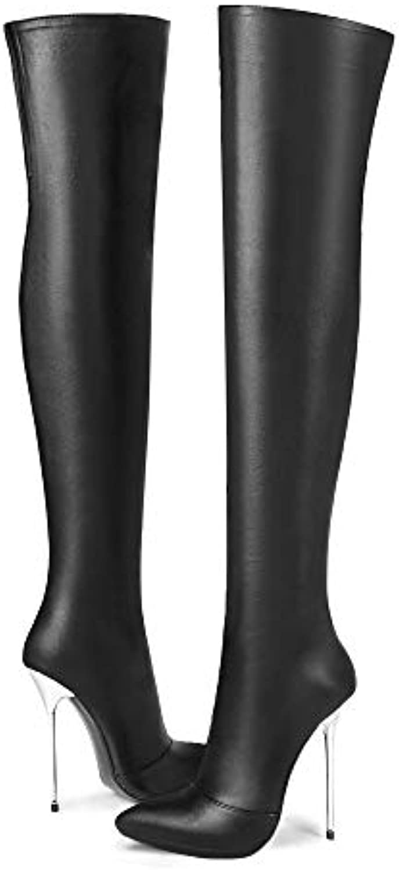 AnMengXinLingJINBAIHE-160-CM-13B - Bottes élégantes élégantes Bottes Femme b21d12
