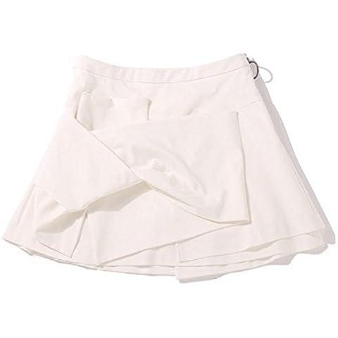 Anello di prua donne tirare uno swing corto white l