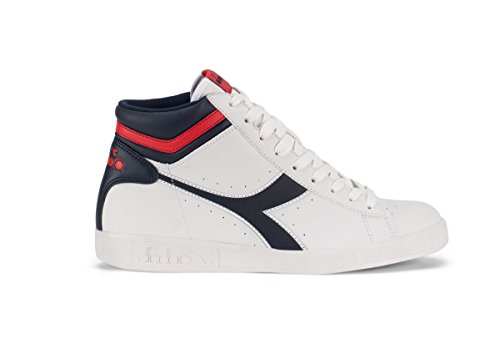 Diadora Game P High, Sneaker Col Roulé Mixte Adulte Bianco