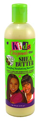 Africa 's Best Organics Kids Shea Butter Detangling Moisturizing Hair Lotion mit Olivenöl 12oz/355ml -