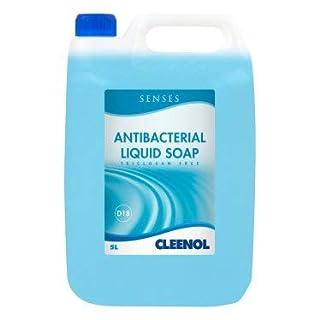 Cleenol 0770192X5 Senses Antibacterial Liquid Soap, 5 L