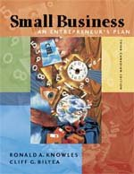 Small Business: An Entrepreneur's Plan third ed [Taschenbuch] by Knowles