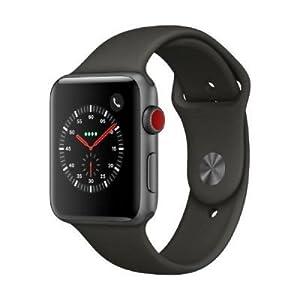 Apple Watch Series 3 OLED GPS (satélite) Display diagonal Plata reloj inteligente - relojes inteligentes (OLED, Pantalla táctil, GPS (satélite), Móvil, 34,9 g, Plata)