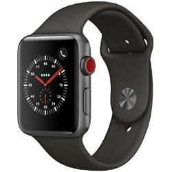 Apple Watch Series 3 OLED GPS (satélite) Móvil Plata Reloj Inteligente - Relojes Inteligentes (OLED, Pantalla táctil, GPS (satélite), Móvil, 34,9 g, Plata)