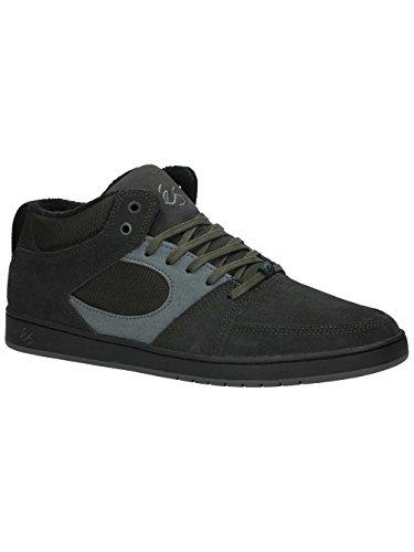 Messieurs Chaussures de skateboard Il Accel slim Mid Skateschuhe Gris foncé/noir