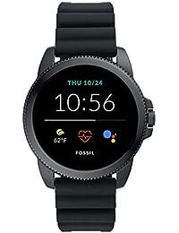 Fossil Connected Smartwatch Gen 5E para Hombre con tecnología Wear OS de Google, frecuencia cardíaca, GPS, NFC y notificaciones smartwatch + Correa para Reloj S221300