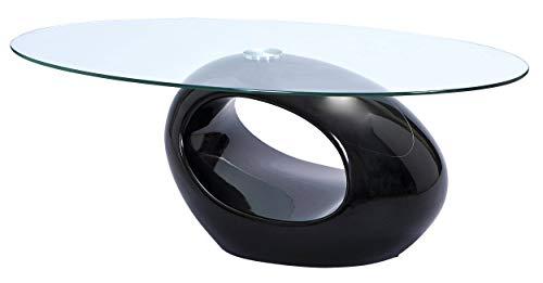 Glastisch Oval Prototyp Tester