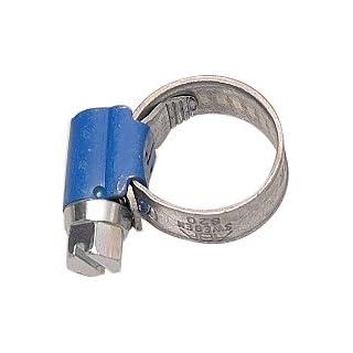 Aparoli 841438 Original ABA - Schlauchschelle, 8-12 mm, Schneckengewinde, Bandbreite 9 mm, VE: 10 Stück, blau