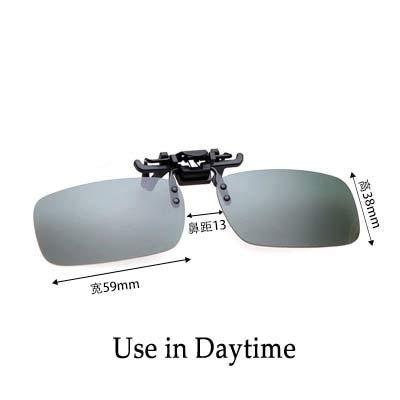 FASHLADY OHANEE HD-Masken Schutzbrillen für Fahrer Nachtsicht