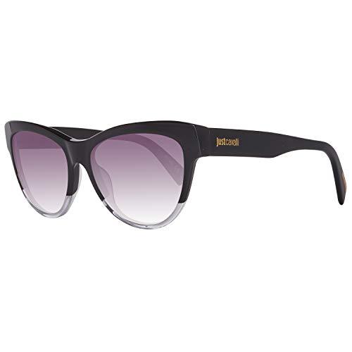 Just Cavalli Damen Jc779s C54 Sonnenbrille, Schwarz, 54