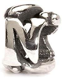 TROLLBEADS 11144N - Abalorio de Mujer de Acero Inoxidable