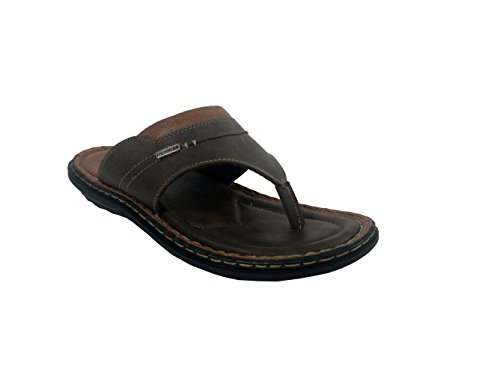 Fuzion Men's Brown Slipper - 10 UK  available at amazon for Rs.499