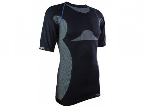 Highlander Mens Thermo Tech Winter Thermal Short Sleeve Baselayer Top
