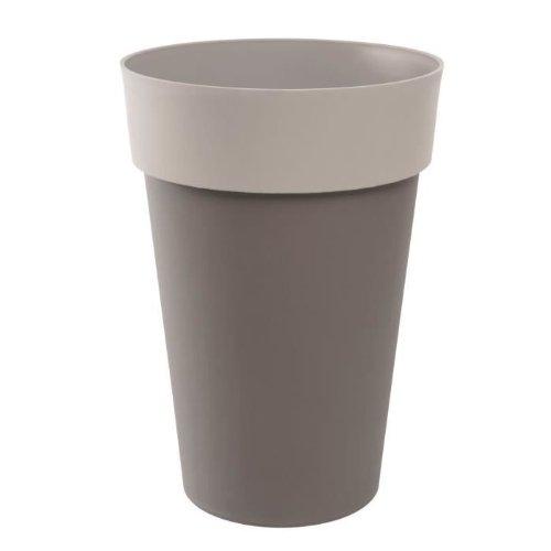 EDA Plastiques 13687 BR.T/BR.MO SX3 Style Vase Haut Bicolore 46 x 65 cm