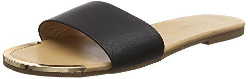 il Donna Open Sandali Nero 1 Toe Colore Altezze Look Nuove Di XqSx8Apw