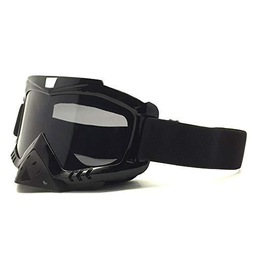 Goggles MXLTiandao Skibrillen Motorradbrillen mit Maske Airsoft Schutzbrillen Maske für das Fahren von Jagdfischen Schießen (Color : 5, Size : One Size) (Ski-helme Brennen)