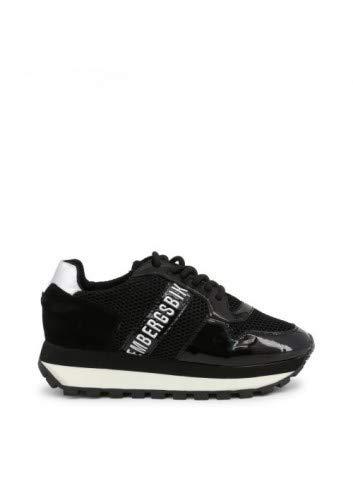 BIKKEMBERGS Sneakers in Schwarz Modell: Fend-ER_2087-MESH Grße: 40