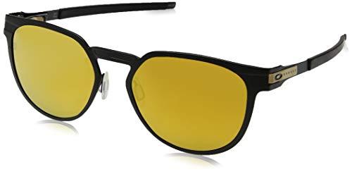 Ray-Ban Unisex-Erwachsene 0OO4137 Sonnenbrille, Schwarz (Satin Black), 55