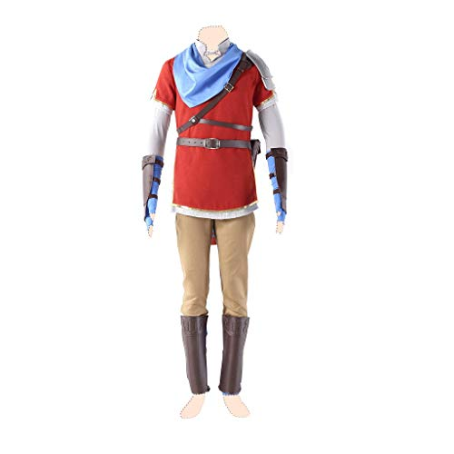 Dream2Reality Hyrule Warriors Cosplay Kostuem Link Ver.6 Red Suits Large