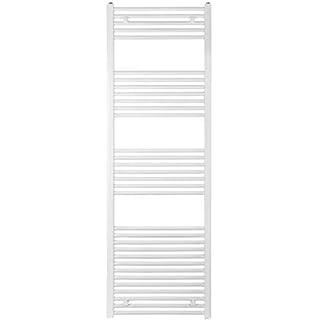 anapont Heated Towel Rail, Radiator, White, Straight, Valuable, 1775h x 500b