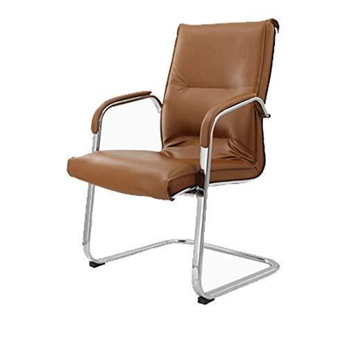 Moderne Esszimmerstühle - Bow Back Chair, ergonomischer Stuhl for Büro/Computer/Zuhause/Arbeitszimmer/Konferenzraum/Personal/Mahjong Schwarz 58x58x100CM Geeignet for Wohnzimmer, Schlafzimm