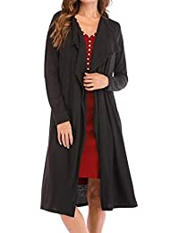 Women Ladies Oversized Baggy Long Draped Cape Cardigan Coat Shrug Top Poncho