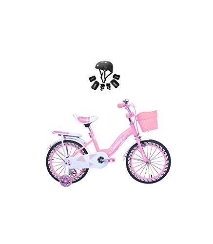 Riscko Bicicleta Infantil Modelo Sunday con Ruedas de 12\'\' Color Rosa