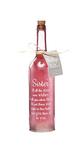 Boxer SB1101 Schwester Sterne licht Flasche, Glas, Pink