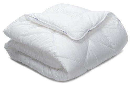 Badenia 03 691 040 180 Bettcomfort Steppbett Irisette Vitamed Duo ca. 220 x 240 cm, weiß