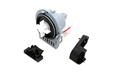 An ORIGINAL Askoll Drain Pump Motor For Washing Machine And Dishwasher Fits Many Models Including Zanussi Whirlpool Bauknecht Ignis Hotpoint Indesit Electrolux Electra Creda Tricity Bendix Samsung by Universal