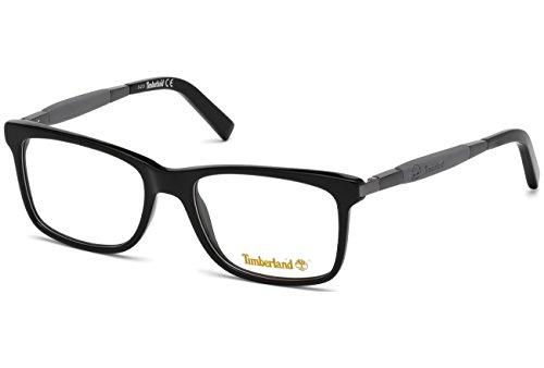 Timberland Unisex-Erwachsene TB1363 Sonnenbrille, Schwarz (Nero Lucido), 54.0